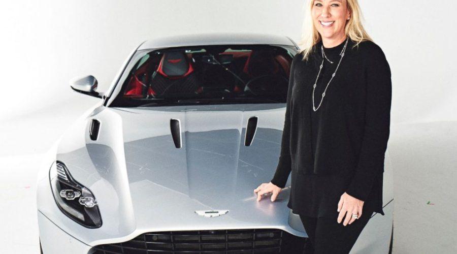 Aston Martin's 1st Female President