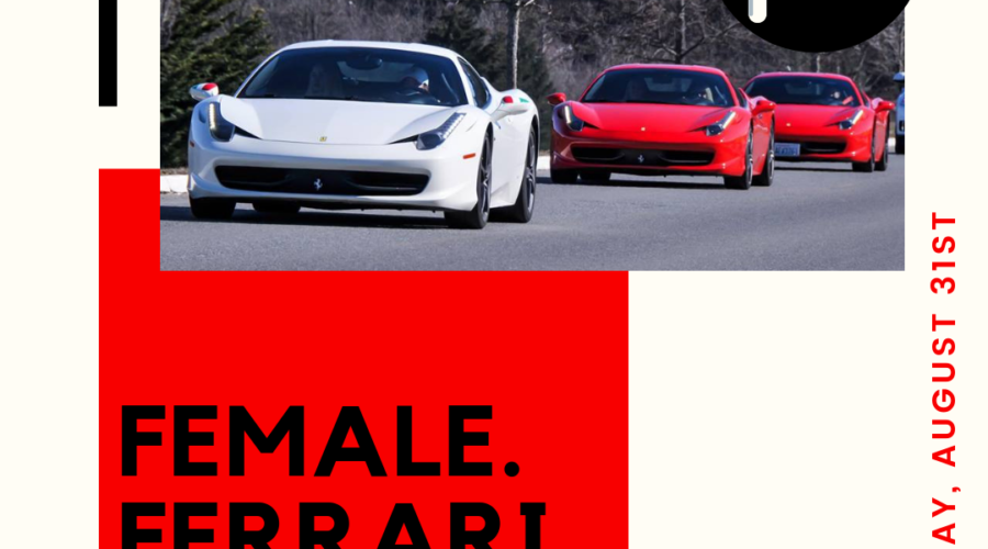 Female. Ferrari. FUN!