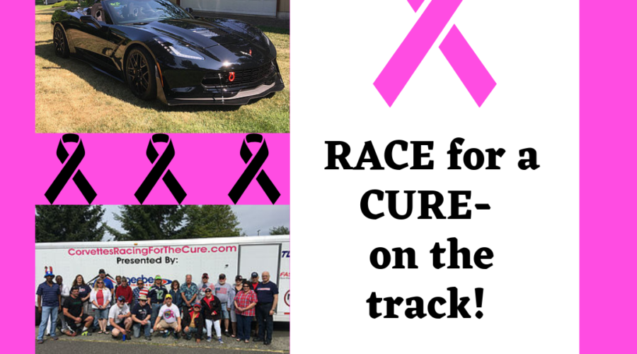 RACE for the Cure- on the Race Track!