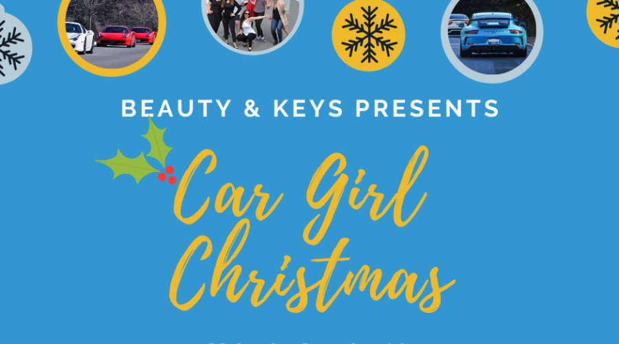 Car Girl Christmas