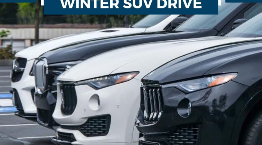Winter SUV Drive