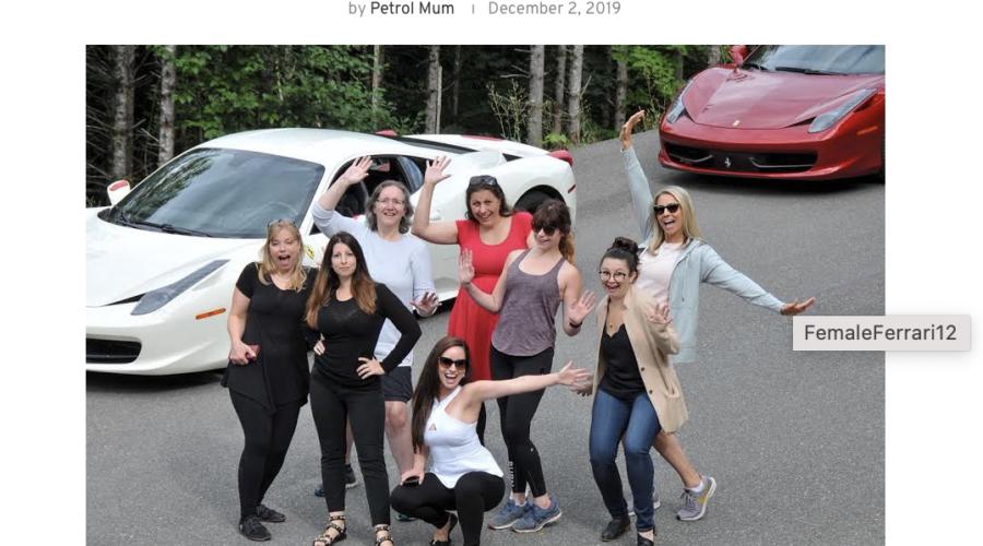 Female Ferrari Fun Jamei June